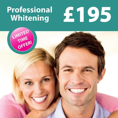 Professional Whitening Offer
